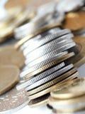 Coins. Soft-focus Royalty Free Stock Photos