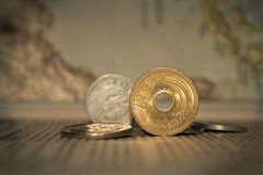Free Coins Royalty Free Stock Photography - 6797877