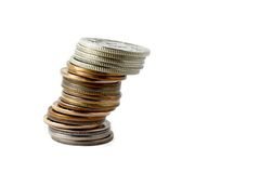 coins Στοκ φωτογραφία με δικαίωμα ελεύθερης χρήσης