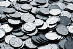 Coins. Picture of coins, five rubles Stock Photography