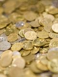 Coins. Russian coins Royalty Free Stock Image