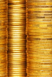 Coins background Royalty Free Stock Photos