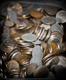 Coins background Royalty Free Stock Photo