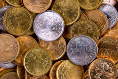 Coins background Royalty Free Stock Image