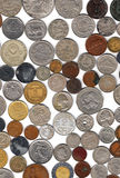 Coins background Stock Images