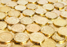 Coins background. Royalty Free Stock Photography