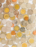 The Coins background Stock Photo