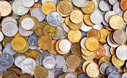 Coins bakgrund Royaltyfri Bild