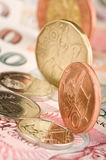 Coins and Banknotes Stock Photos
