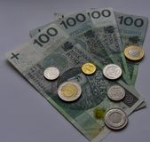 Coins and banknotes PLN