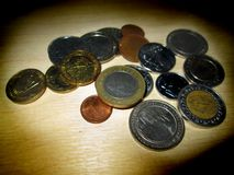 Coins. Royalty Free Stock Photos