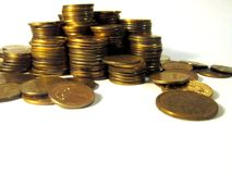 Coins. Royalty Free Stock Image