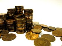 Coins. Stock Photos
