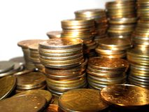 Coins. Royalty Free Stock Photo