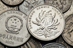 Coins of China Royalty Free Stock Image