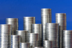 Coins City Stock Photography