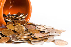 Coins Close-up Royalty Free Stock Photos