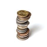 Coins collection Royalty Free Stock Photos