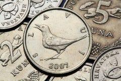 Coins of Croatia Stock Photo