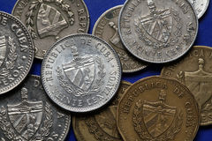 Coins of Cuba Stock Photo