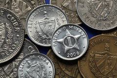 Coins of Cuba Stock Images