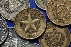 Coins of Cuba Stock Photography