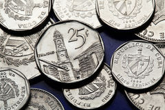 Coins of Cuba. Cuban convertible peso Stock Photography