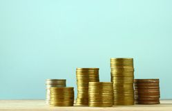 Coins. Currency. money concept Royalty Free Stock Image