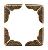 Coins de photo ou de livre - cadre de tableau Image stock