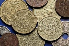Coins of Denmark Stock Photos