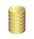 Coins design Stock Photo