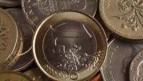 Copper 1 Cent Euro stock video  Video of fiat, copper - 48659805