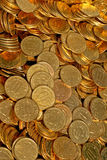 Coins diffuse Royalty Free Stock Image