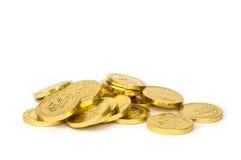 coins dollareuroguld Arkivfoto