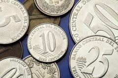 Coins of Ecuador Stock Photo