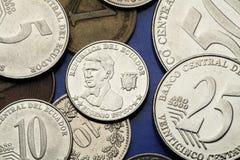 Coins of Ecuador Royalty Free Stock Photos
