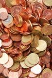 coins euro Arkivbilder