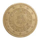 coins euro Royaltyfri Foto
