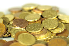 Coins euro Stock Photo