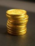 coins euro Royaltyfria Foton