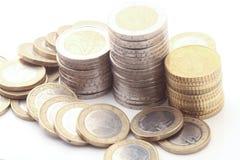 coins europeanen Fotografering för Bildbyråer