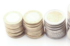 coins europeanen Arkivbild