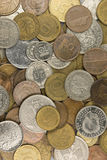 coins europeiskt gammalt Royaltyfri Fotografi