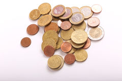 Coins Euros Stock Images