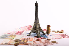 Coins Euros Royalty Free Stock Images