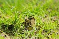 coins exponeringsglas Fotografering för Bildbyråer