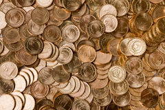 Coins forming a Background Royalty Free Stock Photo