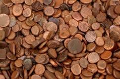 coins gammalt Royaltyfria Bilder