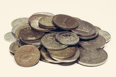 coins gammalt Arkivbild