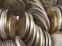coins gammalt Royaltyfri Fotografi